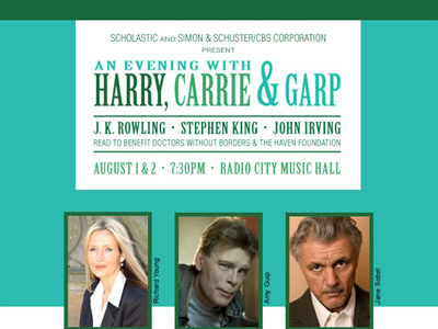 An Evening with Harry Carrie and Garp