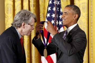 Stephen King & Barack Obama 2