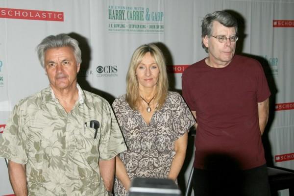John Irving & J. K. Rowling & Stephen King