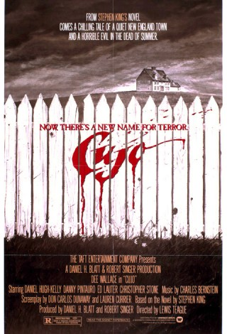 Cujo (1983) – Plakat