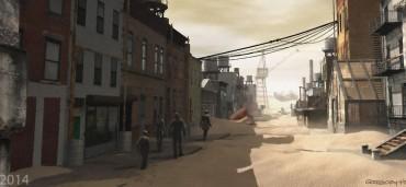 Grafika koncepcyjna filmu Mroczna Wieża 2