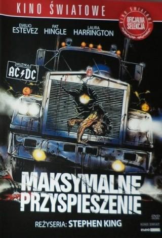 Maksymalne przyspieszenie (1986) – DVD