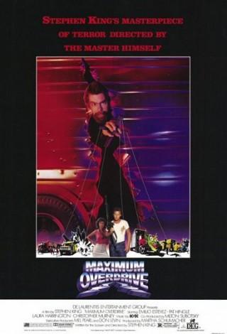 Maksymalne przyspieszenie (1986) – plakat
