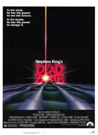 Martwa strefa (1983) – plakat