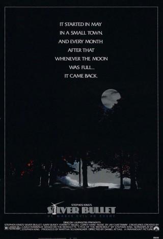 Srebrna kula (1985) – plakat