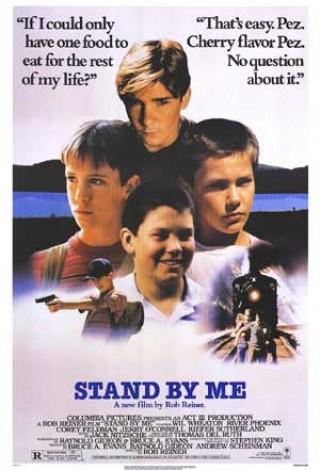 Stań przy mnie (1986) – plakat