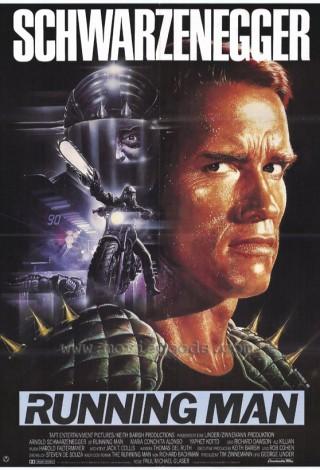 Uciekinier (1987) – plakat