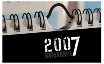 Kalendarz 2007 zawieszka