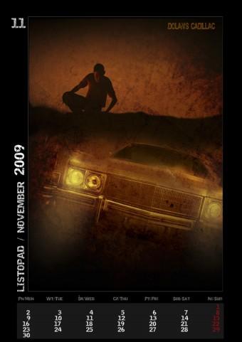 Kalendarz 2009 listopad