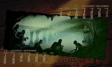 Kalendarz 2010 listopad grudzień