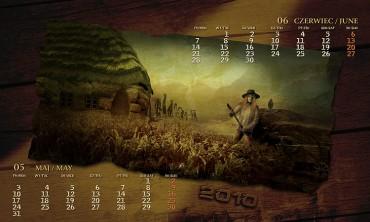 Kalendarz 2010 maj czerwiec