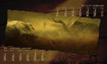Kalendarz 2010 styczeń luty
