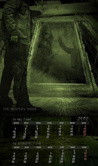 Kalendarz 2012 maj czerwiec