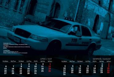 Kalendarz 2015 lipiec sierpień