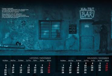 Kalendarz 2015 listopad grudzień