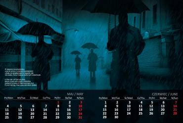 Kalendarz 2015 maj  czerwiec