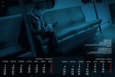 Kalendarz 2015 marzec  kwiecień
