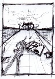 Ostatni bastion Barta Dawesa – szkic