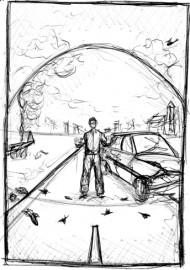 Pod kopułą – szkic