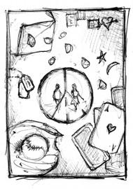 Serca Atlantydów – szkic
