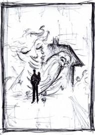 Worek kości – szkic