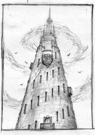 Mroczna Wieża – szkic