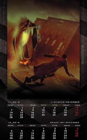 Kalendarz 20146 listopad grudzień