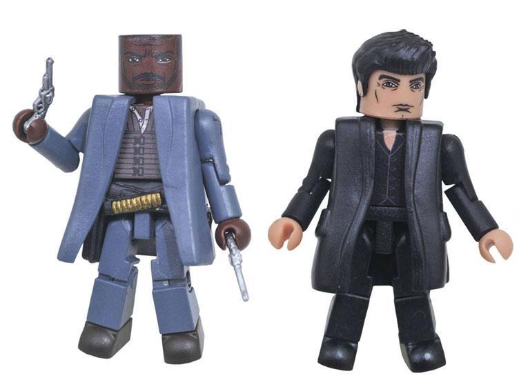 Figurki Mroczna Wieża - Roland i Człowiek w czerni