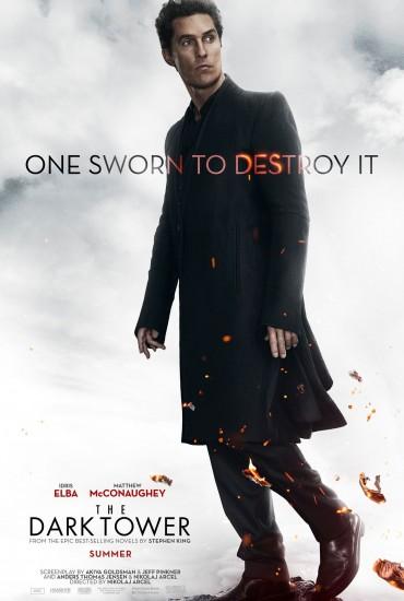 Mroczna Wieża – plakat – Człowiek w czerni