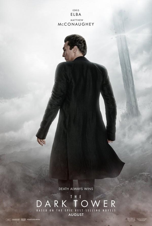Mroczna Wieża – plakat – Czowiek w czerni