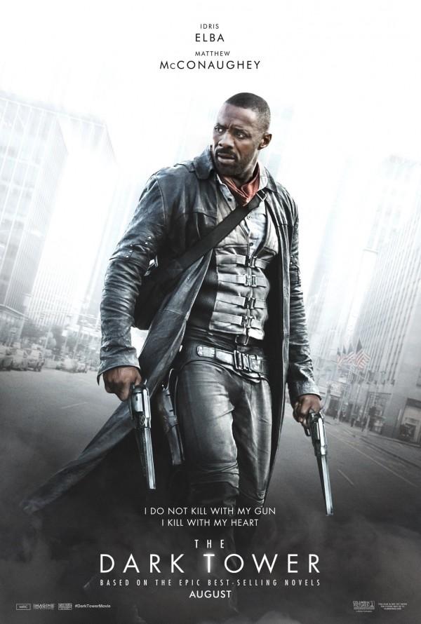 Mroczna Wieża – plakat – Roland