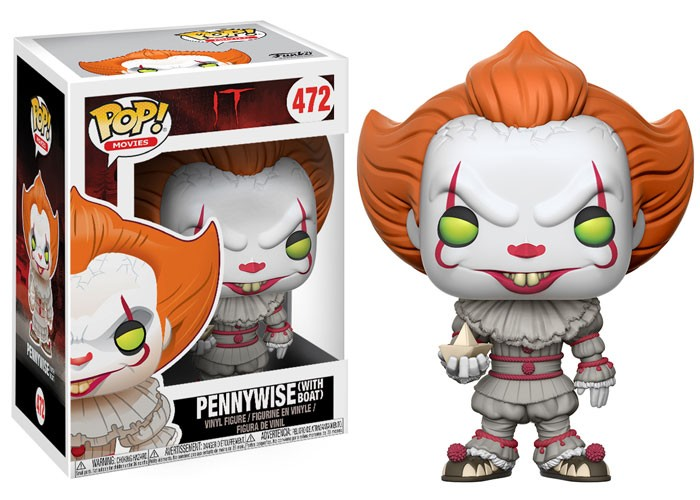 Pennywise with boat – Funko
