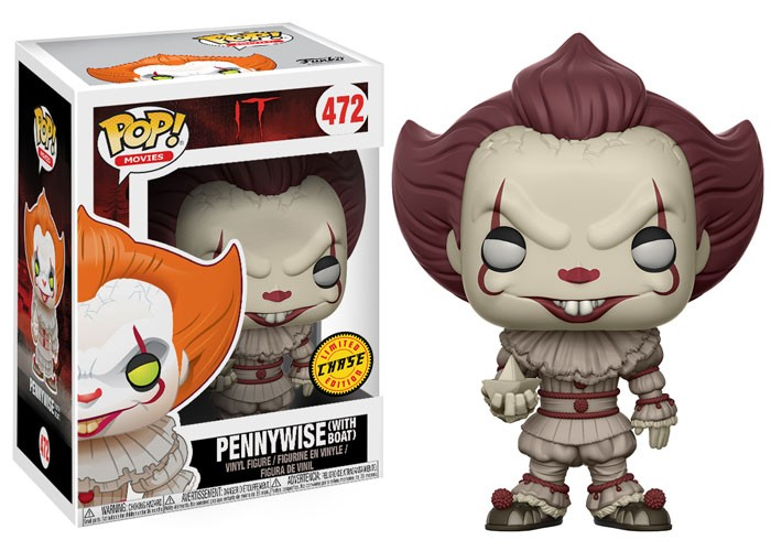 Pennywise with boat sepia – Funko