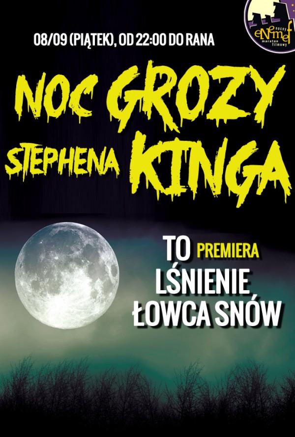 Noc grozy Stephena Kinga – plakat