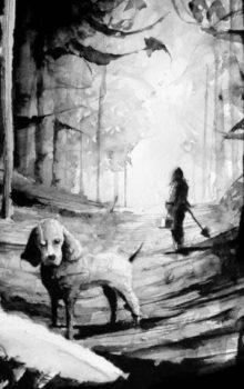 Stukostrachy ilustracja czarno-biała 3