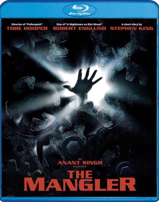 The Mangler – okładka Blu-ray