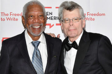 Stephen King & Morgan Freeman
