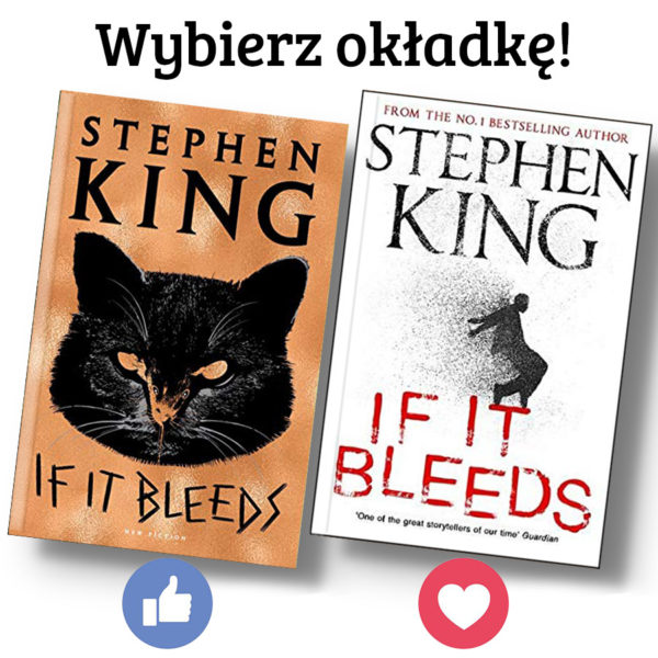 If It Bleeds – okładki – Prószyński i S-ka