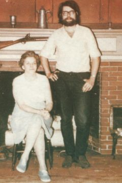 Stephen King & Nellie Ruth King