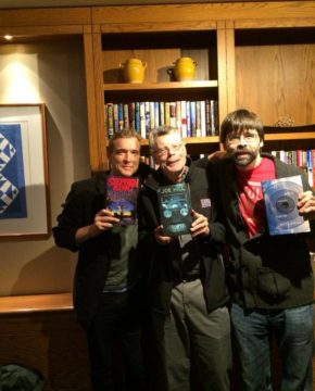 Stephen King, Joe Hill, David Mitchell