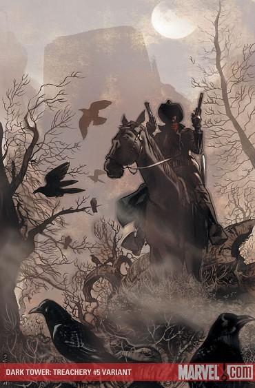 The Dark Tower Treachery #5 wariant