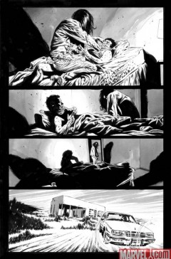 The Stand – American Nightmares #2 strona 2 B&W