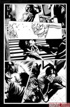 The Stand – American Nightmares #2 strona 5 B&W