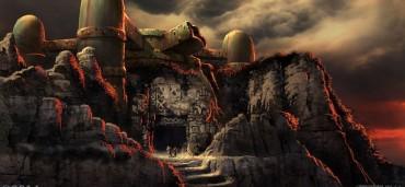 Grafika koncepcyjna filmu Mroczna Wieża 3