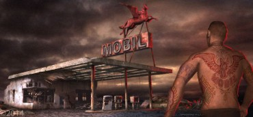 Grafika koncepcyjna filmu Mroczna Wieża 5