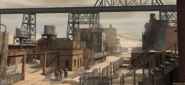 Grafika koncepcyjna filmu Mroczna Wieża 7