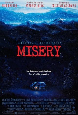 Misery (1990) – plakat
