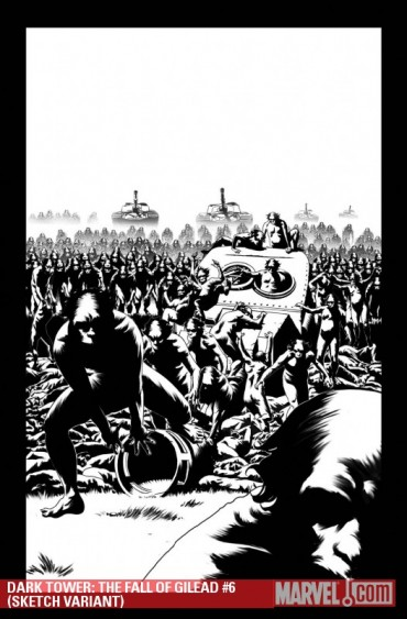 The Dark Tower The Fall Of Gilead #6 wariant