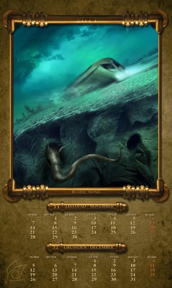 Kalendarz 2011 listopad grudzień