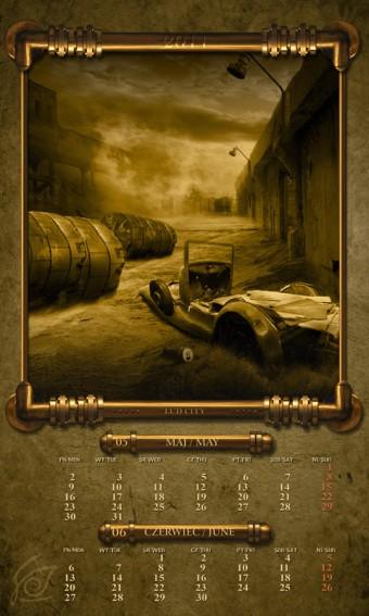 Kalendarz 2011 maj czerwiec